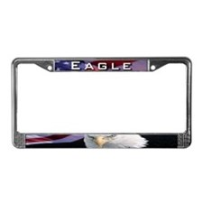 Eagle License Plate Frame