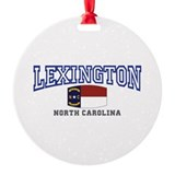 Lexington, North Carolina, NC USA Ornament