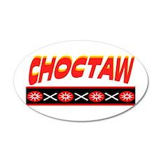 CHOCTAW 20x12 Oval Wall Decal