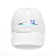 Swim Dad (girl) blue suit Baseball Cap