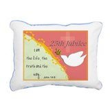 nun blanket.PNG Rectangular Canvas Pillow