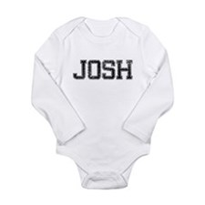 JOSH, Vintage Long Sleeve Infant Bodysuit