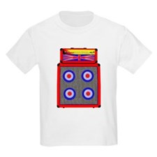 Retro British Mod amp T-Shirt