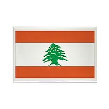 Lebanon Rectangle Magnet