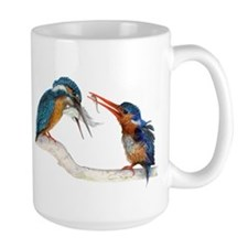 Malachite Kingfishers - It Still Counts Mug