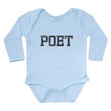 POET, Vintage Long Sleeve Infant Bodysuit