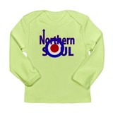 Retro Northern Soul Long Sleeve Infant T-Shirt