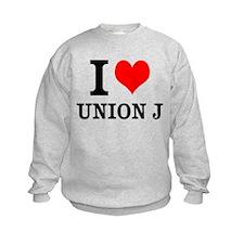I Love Union J Sweatshirt