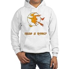 Flying witch Hoodie