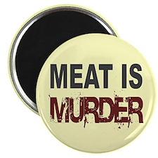 Meat Is Murder Veg*n Magnet