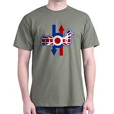 Retro Mod logo and arrows T-Shirt