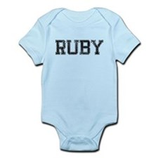 RUBY, Vintage Infant Bodysuit