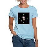 Zombietime Women's Pink T-Shirt