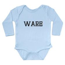 WARE, Vintage Long Sleeve Infant Bodysuit