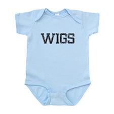 WIGS, Vintage Infant Bodysuit