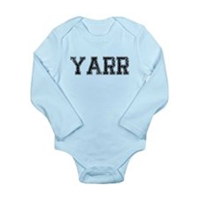 YARR, Vintage Long Sleeve Infant Bodysuit