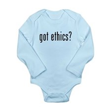 Got Ethics? Long Sleeve Infant Bodysuit