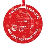 MAZDA BONGO IS FOR CHRISTMAS Ornament