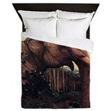 Edward Julius Detmold Elephants Queen Duvet