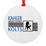Kahler Round Ornament