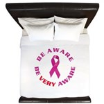 Breast Cancer Awareness King Duvet
