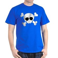 Skull Halloween Matching Couples T-Shirt
