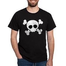 Skull Halloween Matching Couples T-Shirt