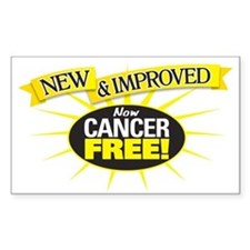 Cancer Free Decal