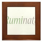 Ruminate Framed Tile