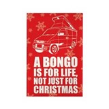 MAZDA BONGO IS FOR CHRISTMAS Rectangle Magnet