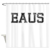 EAUS, Vintage Shower Curtain