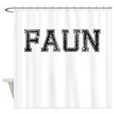 FAUN, Vintage Shower Curtain