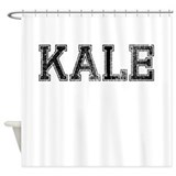 KALE, Vintage Shower Curtain