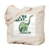 The Way of the Dinosaur Tote Bag
