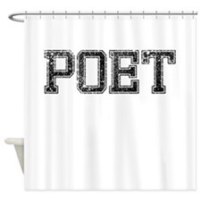 POET, Vintage Shower Curtain