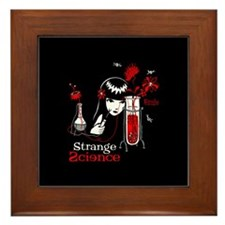 Strange Science Framed Tile