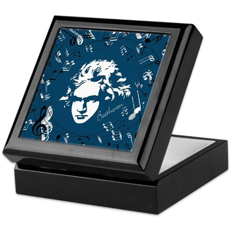 Beethoven Classical Music Gift Keepsake Box