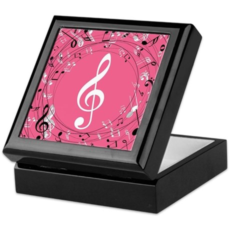 Music Teacher Treble Clef Gift Keepsake Box