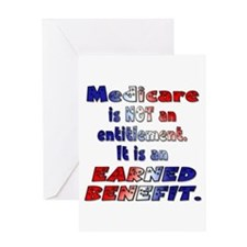 Medicare Is Not An Entitlement Greeting Card