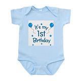 1st birthday onesie Bodysuits