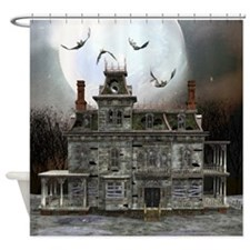 Halloween House Shower Curtain