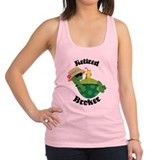 Retired Broker Gift Racerback Tank Top