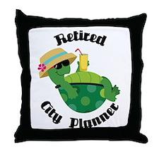 Retired City Planner Gift Throw Pillow