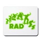 Rad Old School Sk8 Design Mousepad