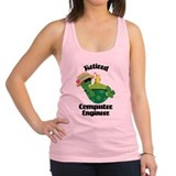 Retired Computer Engineer Racerback Tank Top