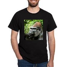 Earnie Silverback gorilla looking forward T-Shirt