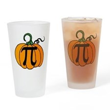 Pumpkin Pi Drinking Glass
