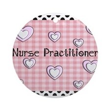 Nurse Practitioner Ornament (Round)