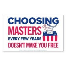 Choosing Masters Decal