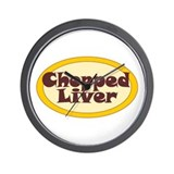 Chopped Liver Wall Clock
